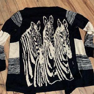 Unique Zebra sweater